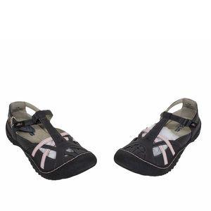 Jambu Gray Pink Dune T-Strap Flats Sandals  11